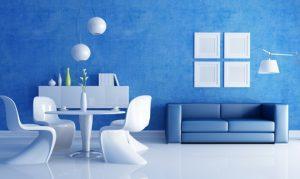 Empersa de pintura y decoración. Pintura de salón y sala de estar