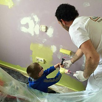 Pintores de habitación para niños en Madrid y Segovia
