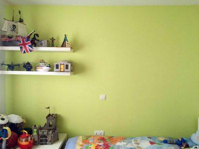 Habitación infantil, decoración y pintura de habitación en Segovia