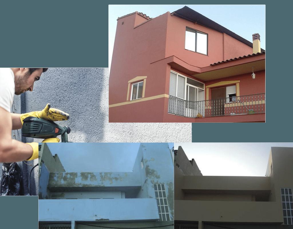 Empresa de pintura y restauración de exteriores de vivienda en Madrid