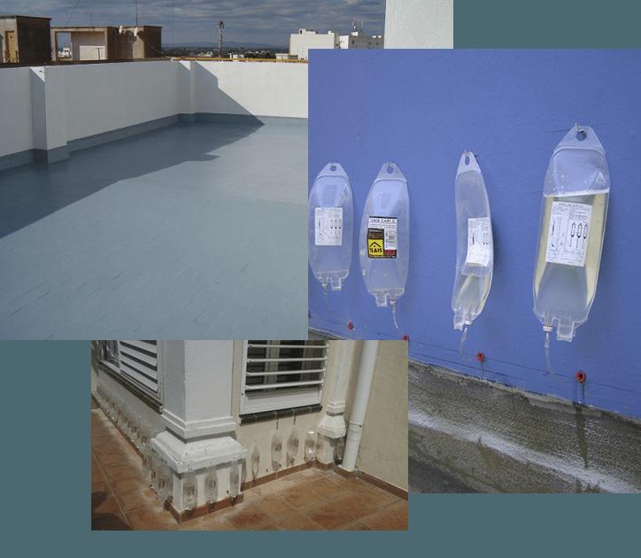 Especialistas en Impermeabilización por capilarización en Madrid y Segovia