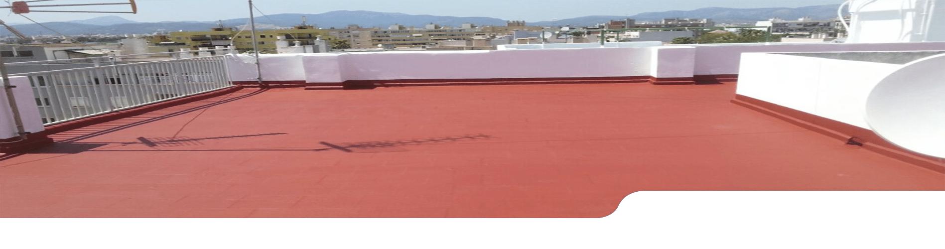 Impermeabilizaciones de terrazas en Madrid. Servicios de pintura e impermeabilización de terrazas.
