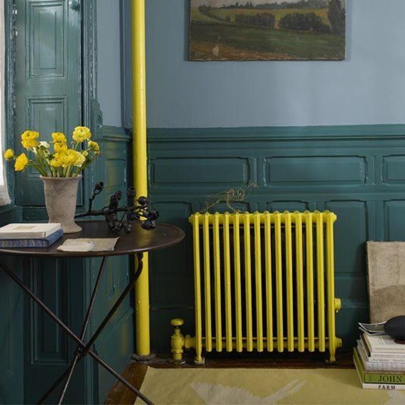 decoracion de interiores pintura en radiadores